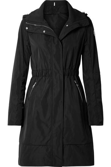 MONCLER | Moncler - Hooded Gabardine Jacket - Black | Goxip