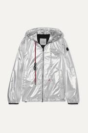 몽클레어 Moncler Hooded metallic shell jacket