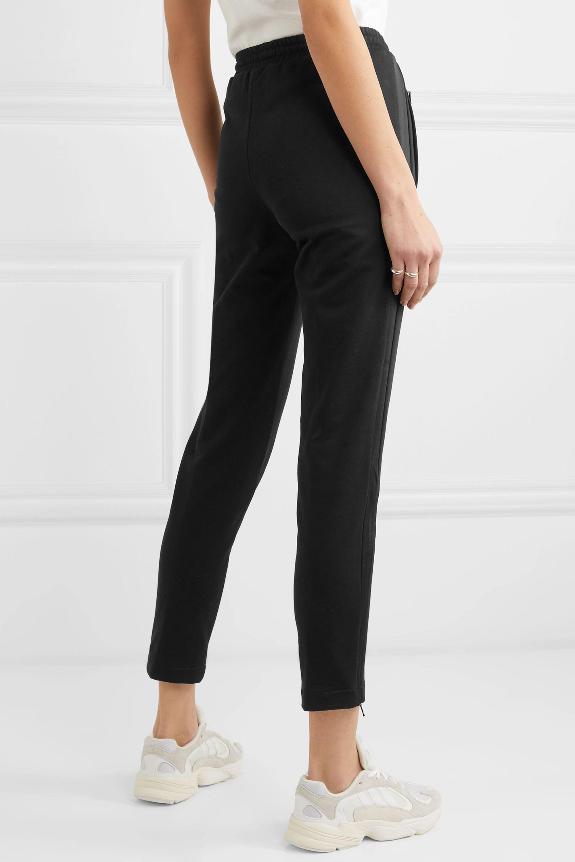 Moncler Cotton-jersey track pants
