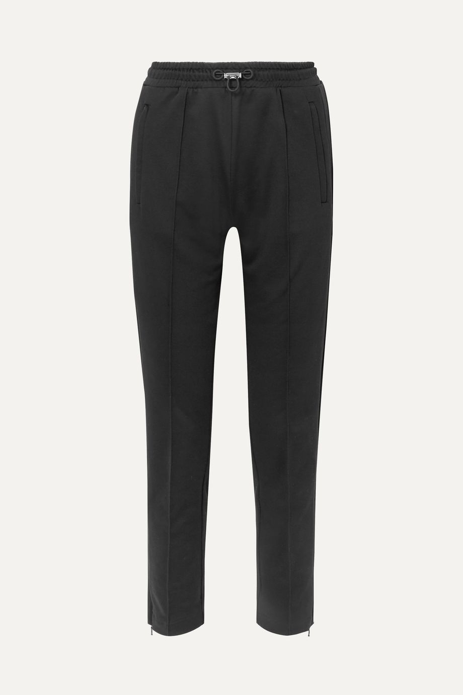 Moncler Cotton-jersey track pants