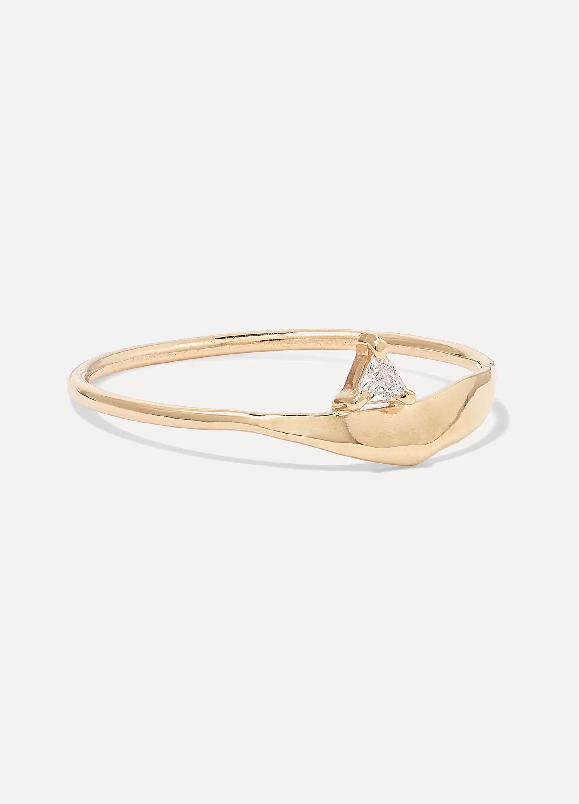 SARAH & SEBASTIAN Fragment gold diamond ring
