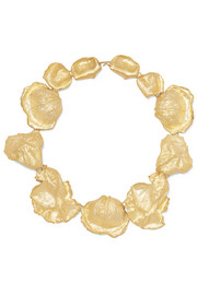 Rosa gold vermeil necklace