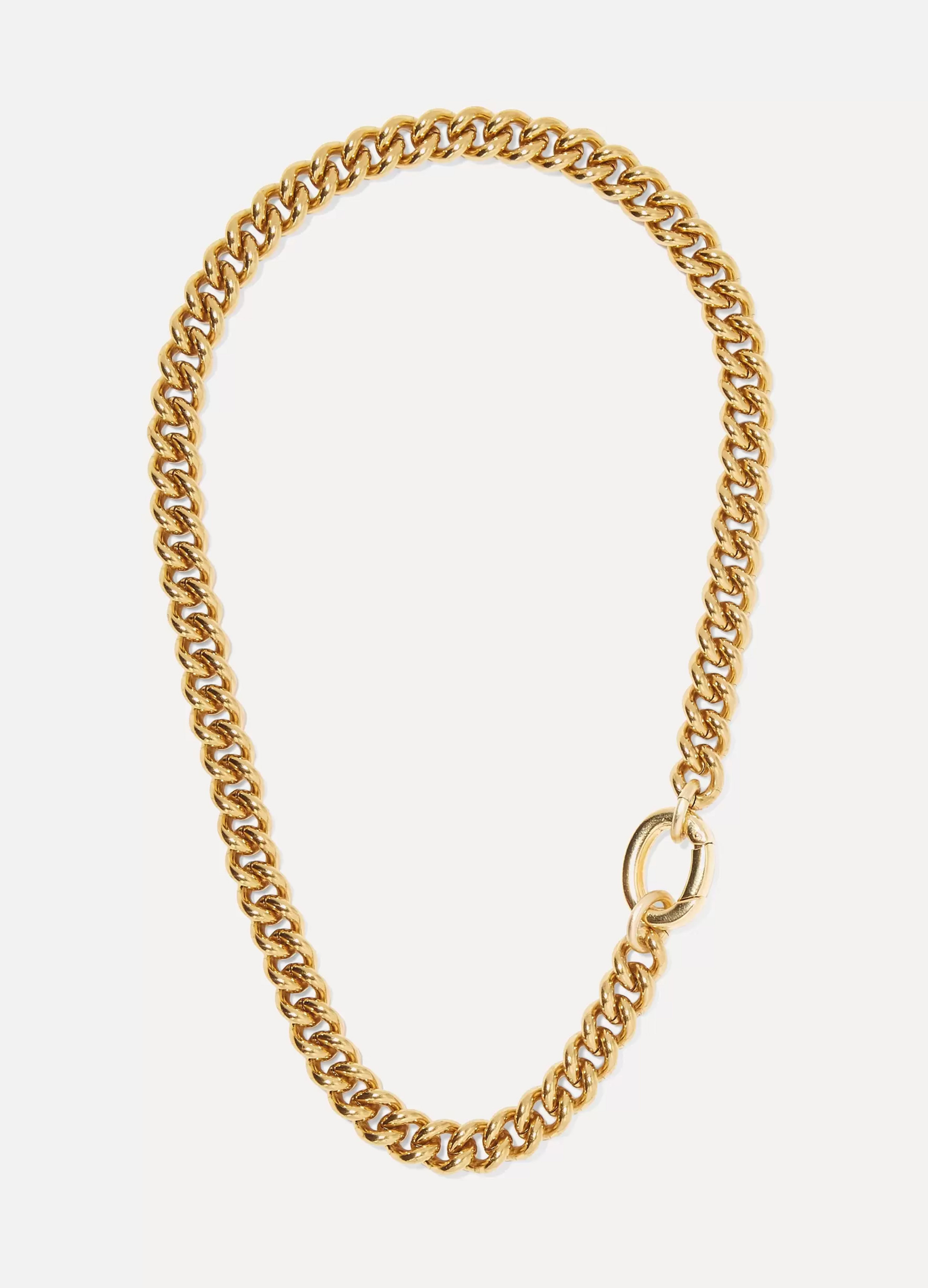 Laura Lombardi Presa gold-tone necklace