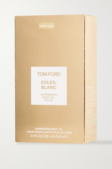 tom ford beauty   soleil blanc shimmering rose gold body oil, 100ml