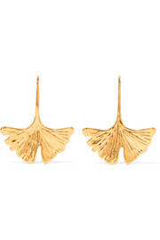 Aurélie Bidermann Tangerine gold-tone earrings