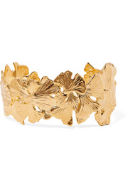 Tangerine gold-plated cuff