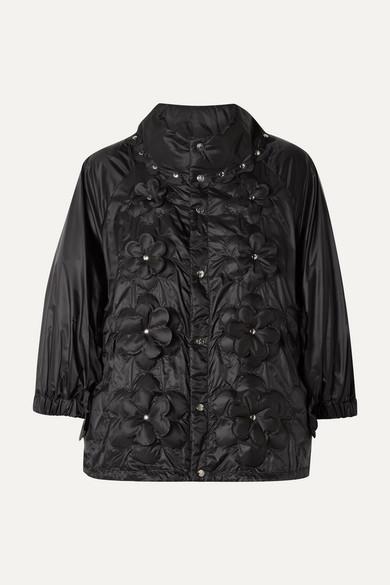 d9d3c0703 + 6 Noir Kei Ninomiya appliquéd quilted shell down jacket