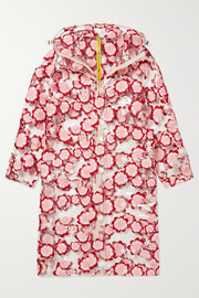 Moncler Genius + 4 Simone Rocha hooded embroidered PVC coat