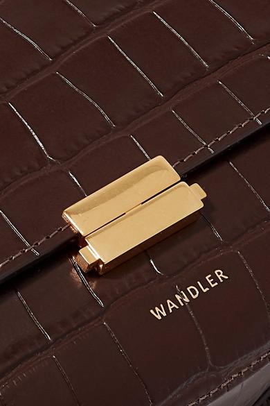 04e32e0e2d69 Anna croc-effect leather belt bag.  595. Zoom In