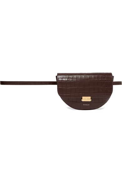 0c3c55f715bd Wandler. Anna croc-effect leather belt bag