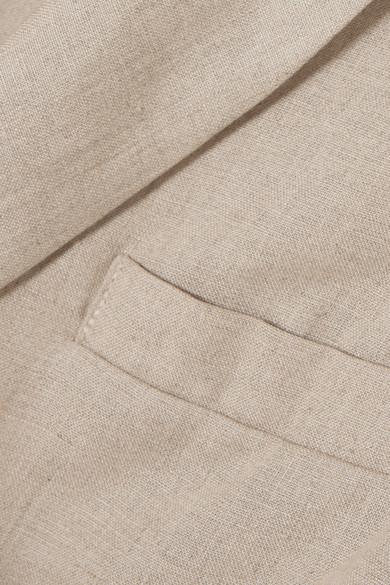 Albus Lumen   Forma linen blazer   NET-A-PORTER COM