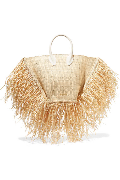 Image result for Le Baci Raffia Bag