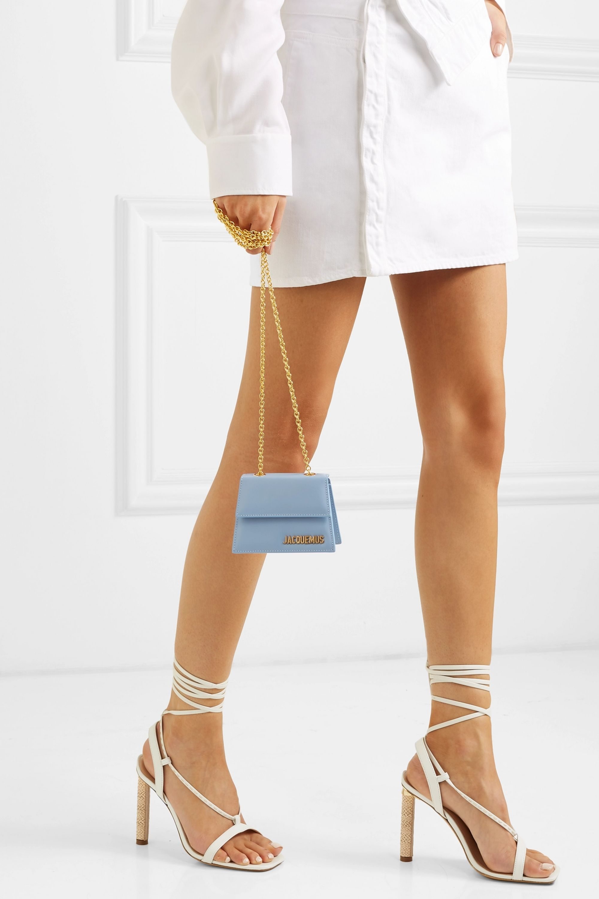 Jacquemus Le Piccolo leather shoulder bag
