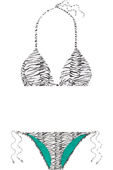 3047bf5acb2b RIXO | Lucia printed halterneck bikini | NET-A-PORTER.COM