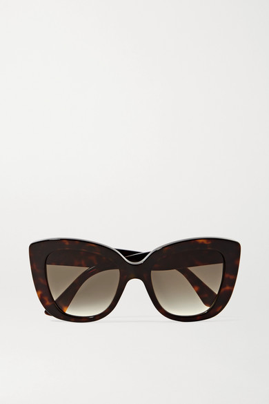 fa833a1e47 Gucci. Havana cat-eye tortoiseshell acetate sunglasses
