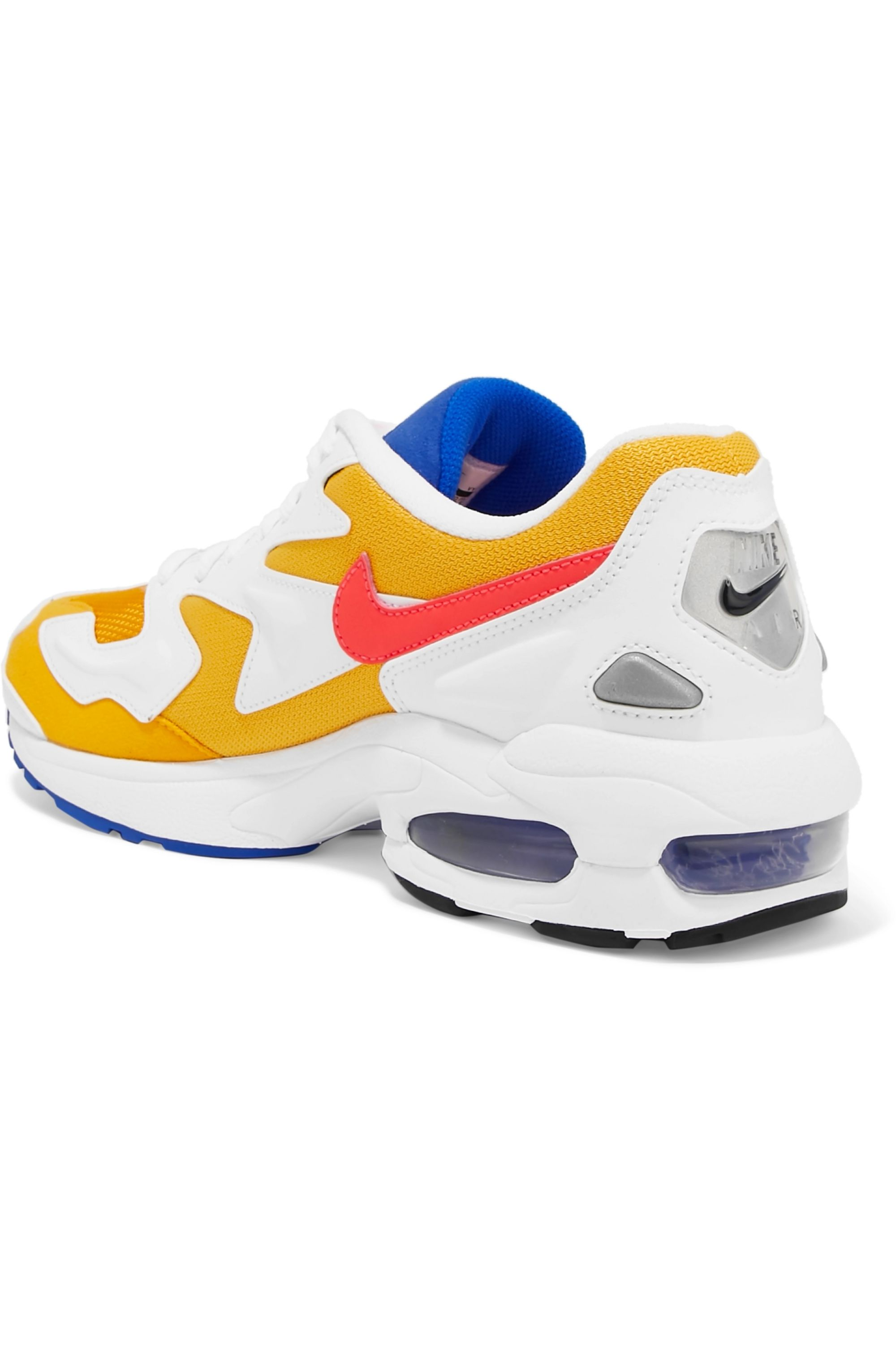 Nike Air Max 2 Light faux leather, suede and mesh sneakers