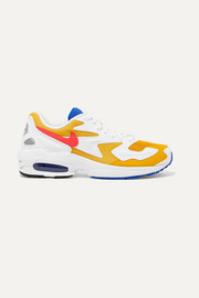 Air Max 2 Light Sneakers aus Kunstleder, Velourslederimitat und Mesh
