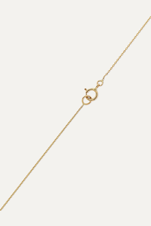 STONE AND STRAND 14-karat gold diamond necklace