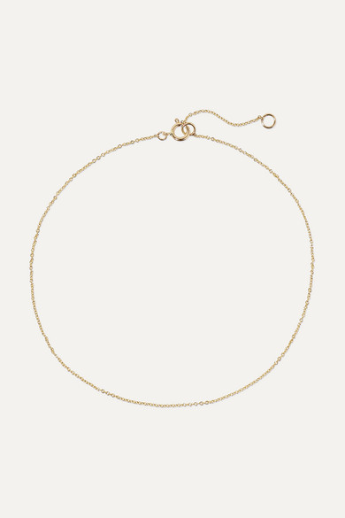 STONE AND STRAND 14-Karat Gold Anklet