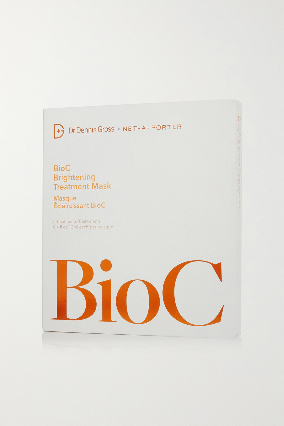 Dr. Dennis Gross Skincare BioC Brightening Treatment Mask x 8