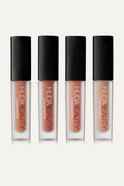 Huda Beauty Liquid Matte Minis - Au Naturel Nudes