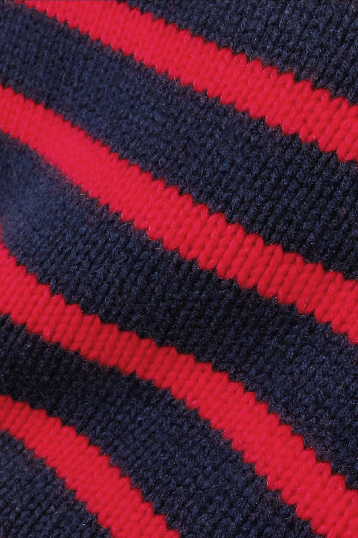 La Ligne Mini Marin striped wool and cashmere-blend sweater