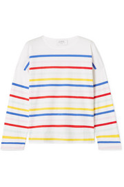 La Ligne Charlotte striped cotton-jersey top