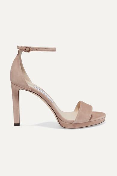 Jimmy Choo Women's Misty 120 Platform High-Heel Sandals