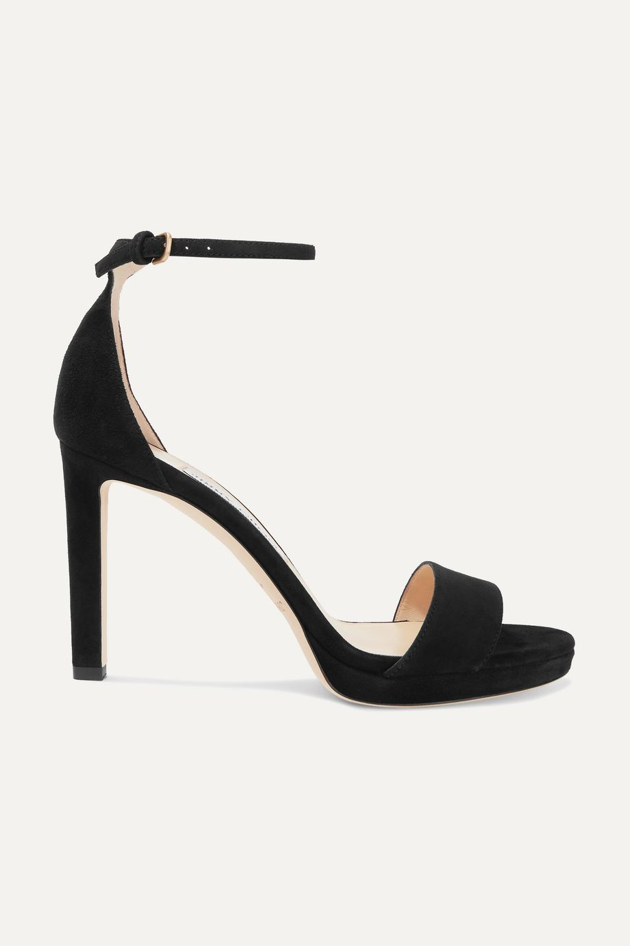 Jimmy Choo Misty 100 suede platform sandals