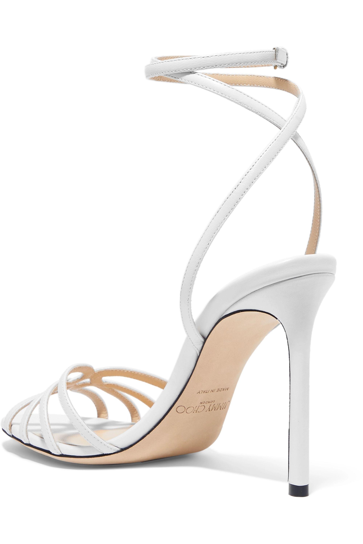 Jimmy Choo Mimi 100 leather sandals