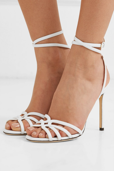 Jimmy Choo Sandals Mimi 100 leather sandals