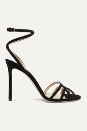 Jimmy Choo Mimi 100 suede sandals