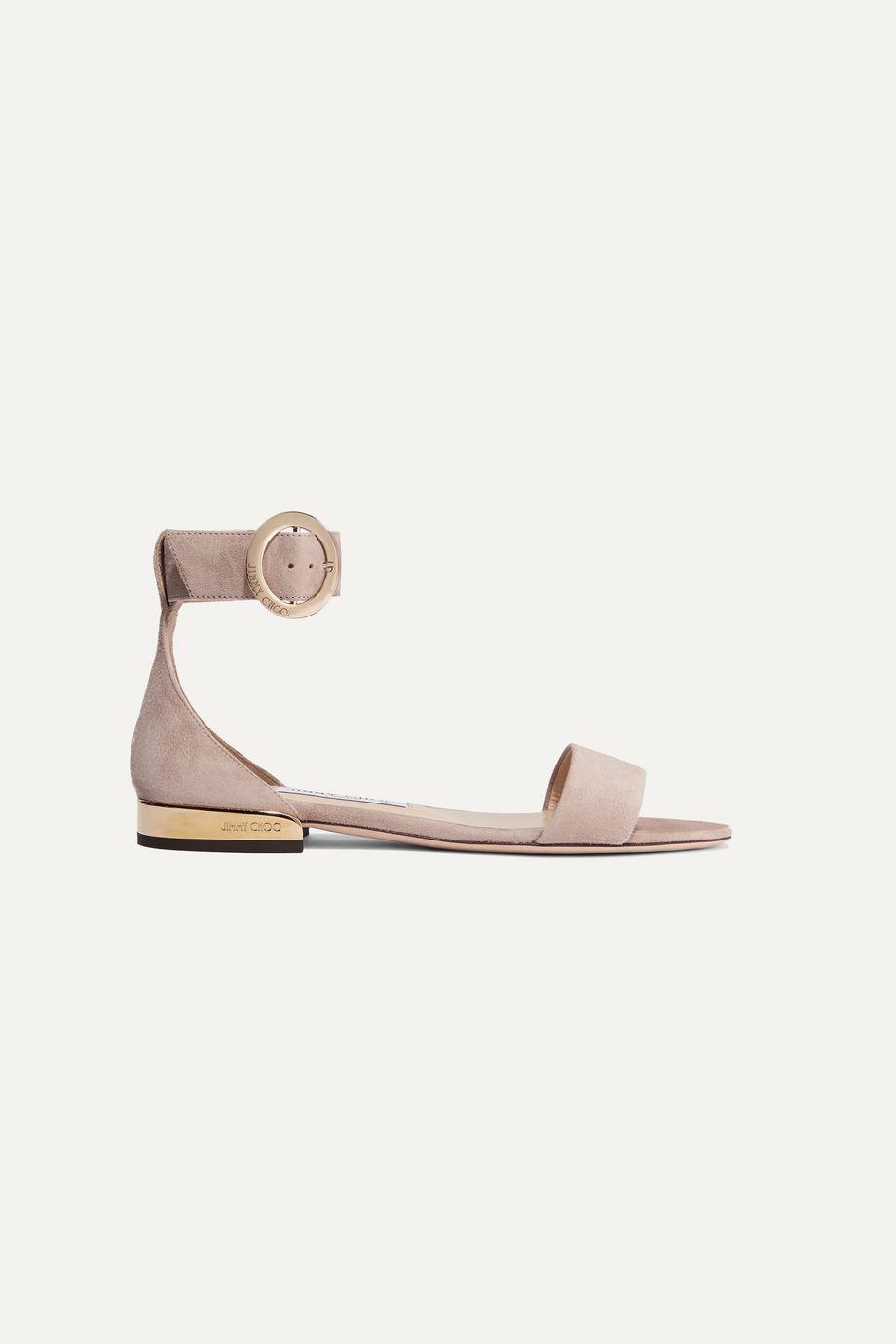 Jimmy Choo Jamie suede sandals