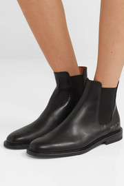 Common Projects Leather Chelsea boots