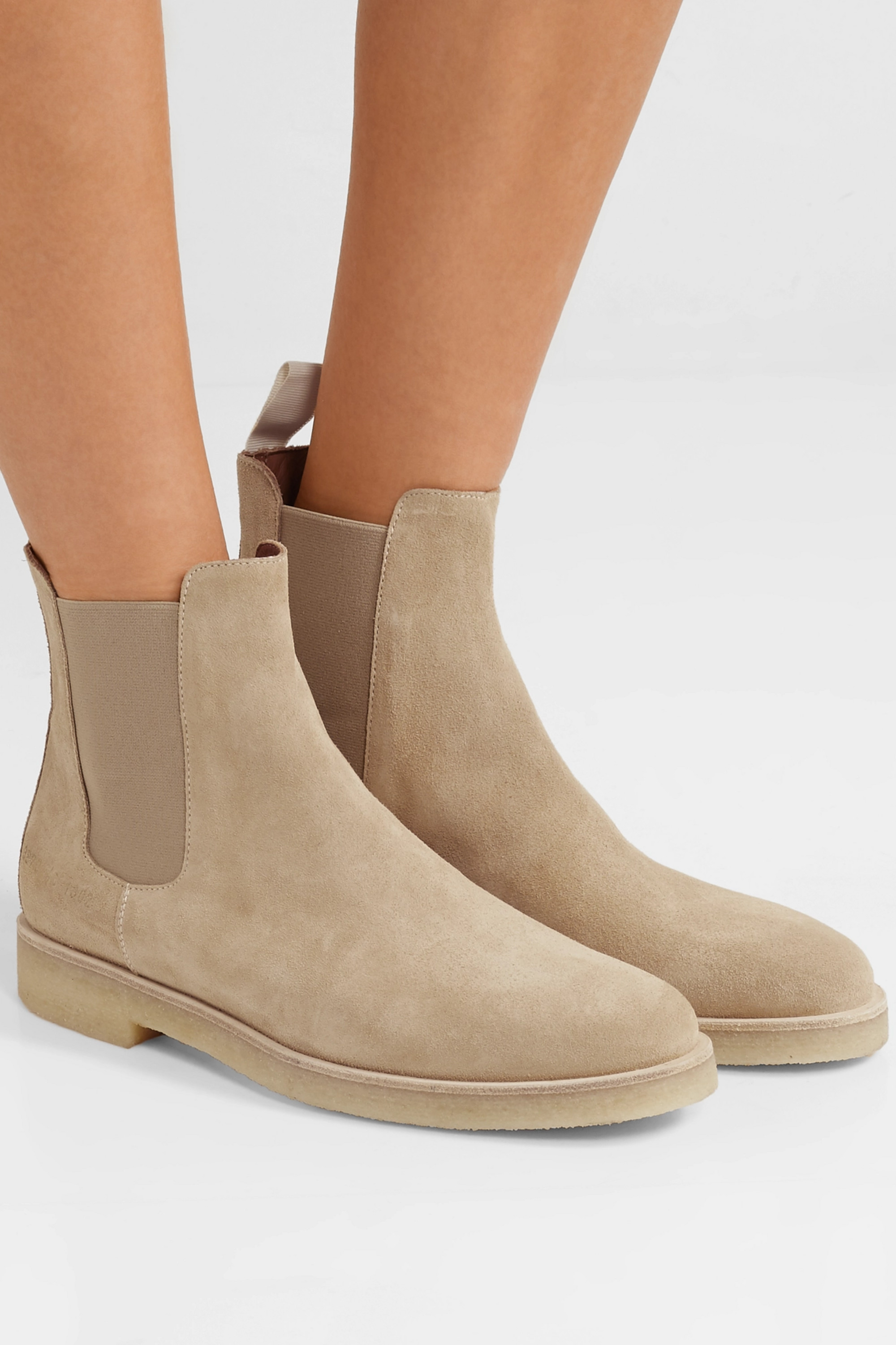 Sand Suede Chelsea boots | Common