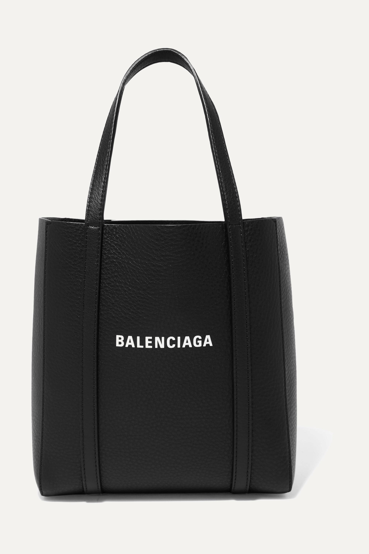 Balenciaga Everyday mini bedruckte Tote aus strukturiertem Leder