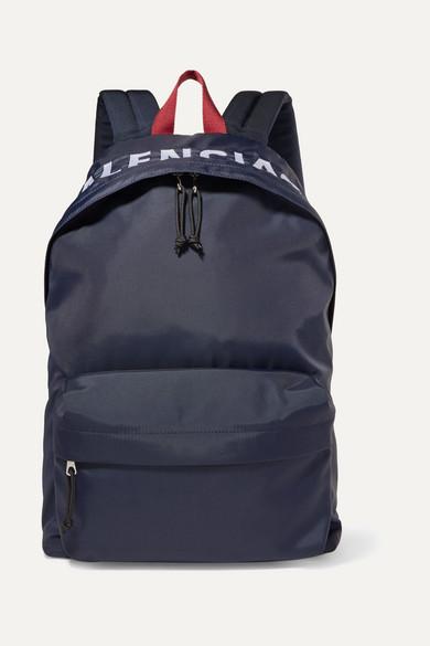 aa002e88be Balenciaga | Sac à dos en tissu technique à broderies Wheel |  NET-A-PORTER.COM