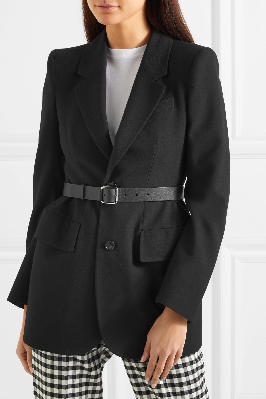 Balenciaga Everyday Taillengürtel aus strukturiertem Leder mit Print