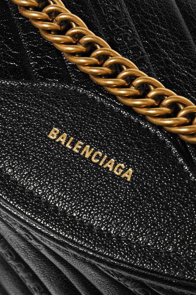 Balenciaga Belt Souvenir XS AJ textured-leather belt bag