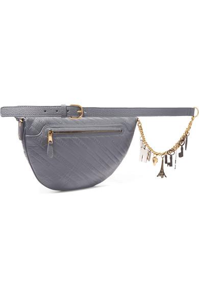 Souvenir XS AJ embellished quilted leather belt bag