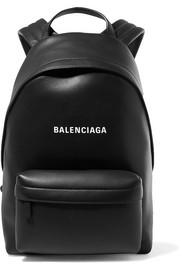 Balenciaga Everyday printed leather backpack