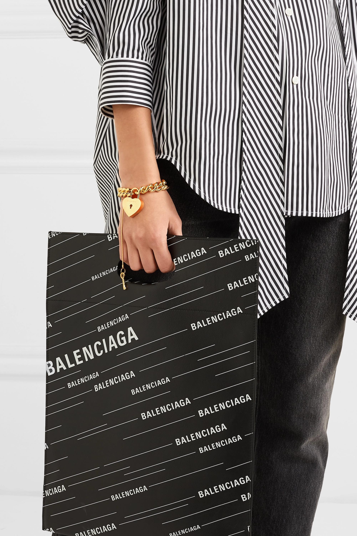 Balenciaga Gold-tone bracelet