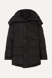 Balenciaga Swing oversized padded shell coat