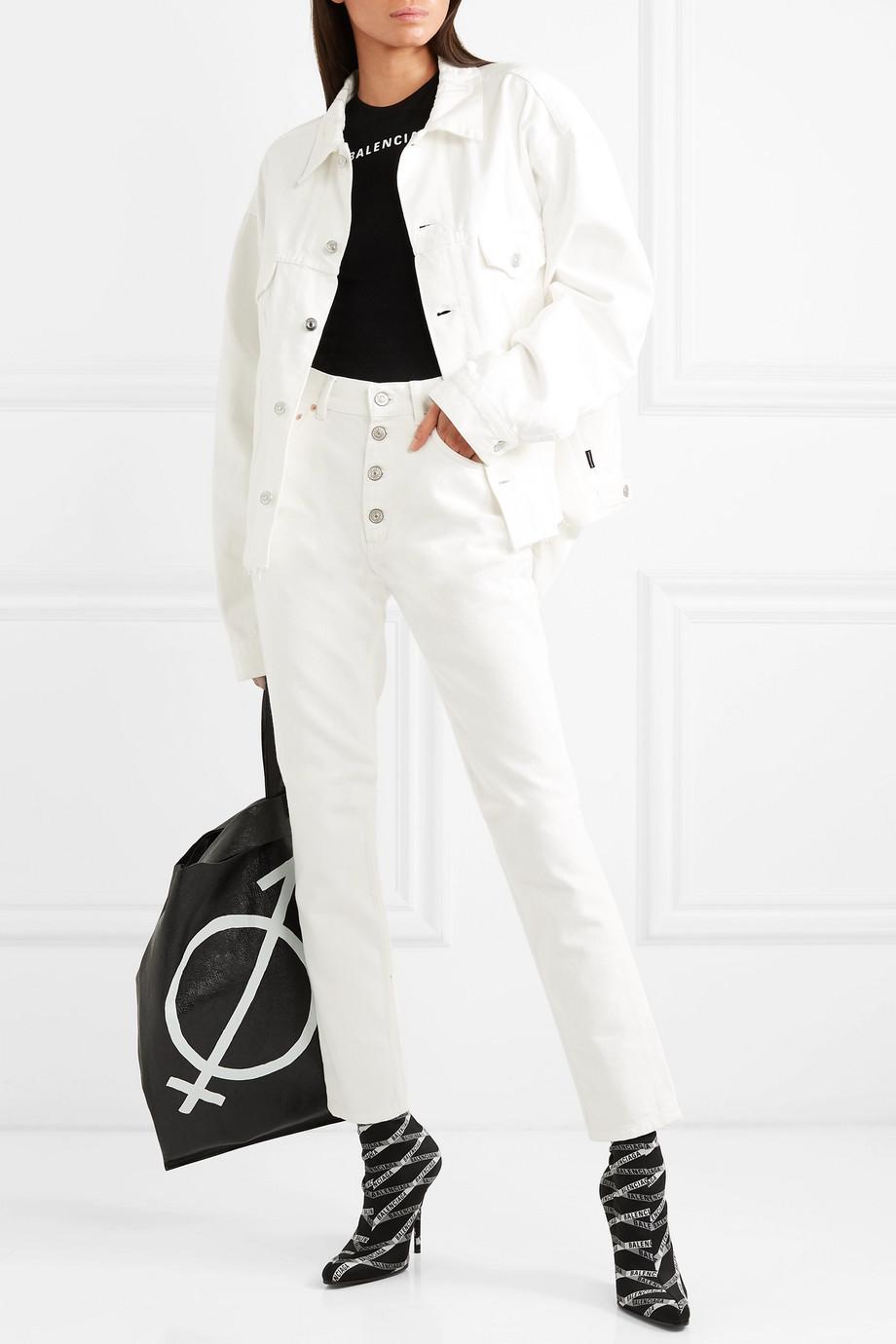 Balenciaga Veste oversize en jean