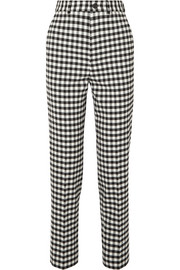Balenciaga Checked woven straight-leg pants