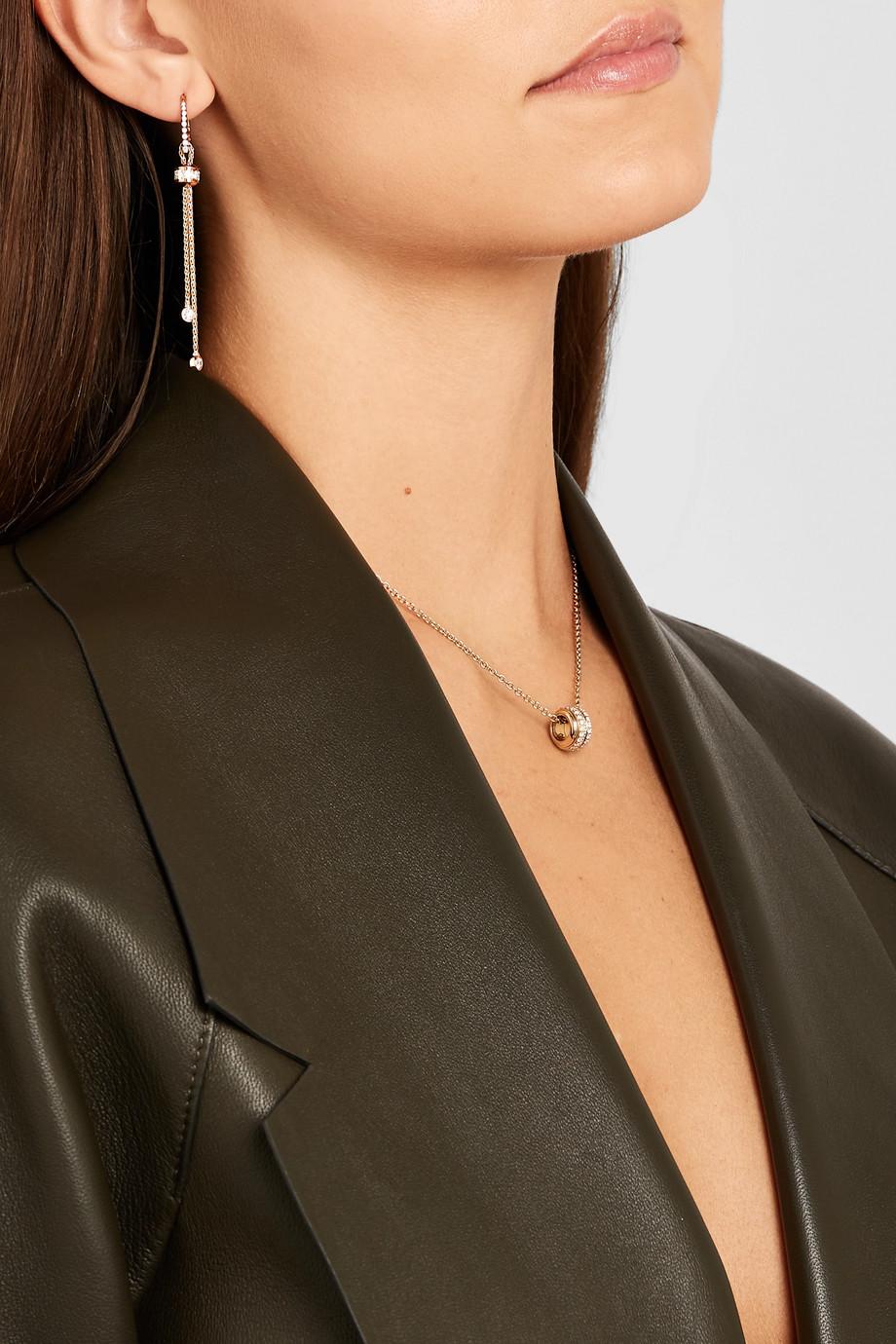 Piaget Possession Ohrringe aus 18 Karat Roségold mit Diamanten