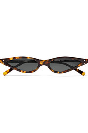 George Keburia Cat-eye tortoiseshell acetate sunglasses