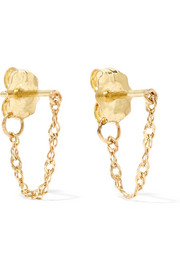 Catbird Sweet Nothing 14-karat gold earrings