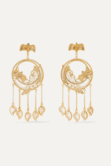 MALLARINO Catalina Gold Vermeil Earrings