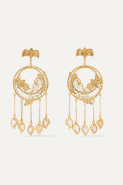 Catalina gold vermeil earrings